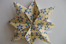 Origami. Papel. Y más / by Romina