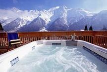 Hot Tubs / Imagine soaking in one of these dreamy hot tubs!