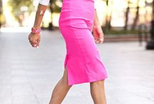 Ultimate Pencil Skirt Style