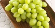 Gorgeous Green Grapes / We're seeing green! Whether you prefer the refreshing taste of SUPERIOR SEEDLESS green grapes, the crisp, sweet bite of green AUTUMNCRISP grapes, the robust flavor of the green Autumn King grapes, or the subtle sweetness of Thompson Seedless green grapes - we've got your favorite greens covered.