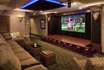 Media centers & Entertainment area ideas / Media centers and entertainment areas for ideas