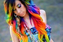 Haare / Frisuren / Farben
