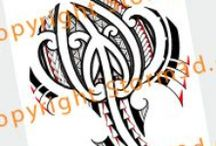 High quality Maori tribal tattoo designs / All high resolution tattoodesigns are available on my website www.storm3d.com This set is inspired by the Maori style tattoos with koru shapes an other tribal patterns from New-Zealand