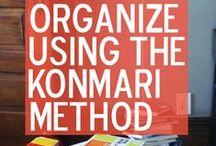 Kon Mari / Minimizing