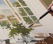 manuales acuarela / Watercolour-Acuarela