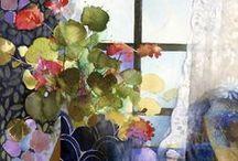Shirley Trevena / Watercolour-Acuarela