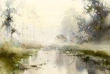 Ilya Ibryaev / Watercolour-Acuarela