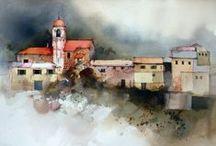 John Lovett / Watercolour-Acuarela