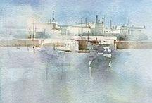 Kees van Aalst / Watercolour-Acuarela