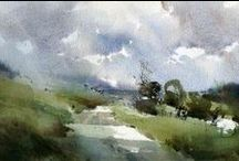 Chris Robinson / Watercolour-Acuarela