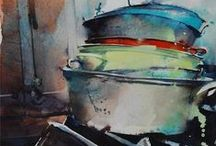 Marc Folly / Watercolour-Acuarela