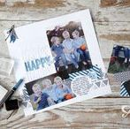 One page scrapbooking