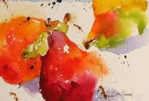 Lisa Livoni / Watercolour-Acuarela