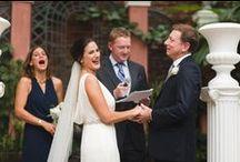 10.24.15 Melissa and Joe Ewell's Ceremony / Melissa and Joe's Wedding- 10.24.15- Brennan's Courtyard