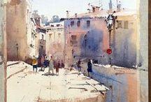 Paisaje urbano (Urbanscapes) / Watercolour-Acuarela