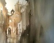 Joan Coch / Watercolour-Acuarela