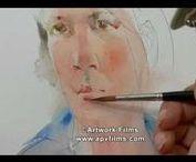 Charles Reid / Watercolour-Acuarela