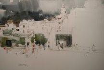 Albert Alis / Watercolour-Acuarela