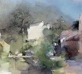 Liu Yi / Watercolour-Acuarela