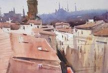 Eugen Chisnicean / Watercolour-Acuarela