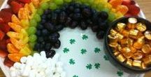St. Patrick's Day Ideas with Green Grapes / Celebrate St. Patrick's Day with grape inspired snacks and drinks! #SunWorldGrapes