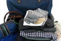 Men's Minimalist Holiday Packing
