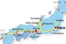 Reisen Japan / Routenideen für die Japan Reise