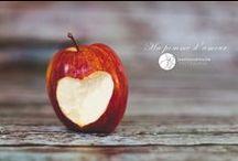 valentine's day / valentine's day, apple heart, coeur dans la pomme