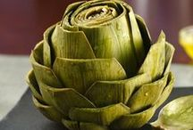 Artichokes / While you have to go through so much to get so little, artichokes are worth the effort. Mount Carmel has put together this selection of healthy, delicious artichoke recipes, informative articles about the health benefits of artichokes, and tips for cleaning and using artichokes.