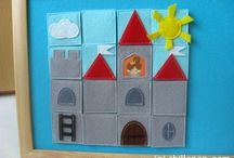"""DIY toys, activities ideas / Dear Followers! You can find more ideas in """"PAPERCRAFTS, PAPER TOYS"""" and """"PRETEND PLAY"""" boards  / by Dorina Sos"""