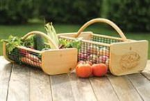 Harvest Helpers / Handy tools for gathering, measuring and weighing your vegetable and fruit harvest.
