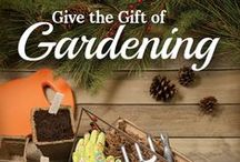 Garden Gifts / Unique, practical gift ideas for the holidays, housewarmings or as a nice way to brighten a gardener's day.