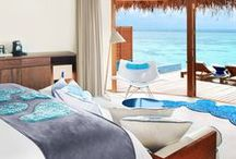 Luxury Hotels / We've selected the finest resorts full of pretty decor, modern and historical architecture..