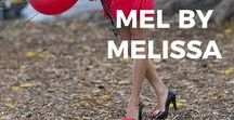 Mel by Melissa / Move over Prince Charming, Cinderella has found a new pair of slippers! Following from the success of Melissa Shoes, we are excited to introduce Melissa's little sister mel. Eco-friendlyJust like Melissa shoes, mel shoes are made from Melflex, an eco-friendly plastic material that can easily be disassembled and recycled. We know you will love your Mel shoes as much as we do!