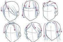 Anatomy - Hairstyles