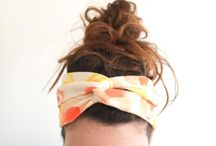 Hair turbans/bows/flower crowns / by eva brown