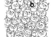 clipart bw & coloring