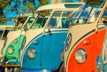 Vw campervans & Vespas / Vespas and classic vw campervans. Over 10 million camper vans have been built. End to end, they would be able to stretch around the whole world.  / by ♡Emily♡ Fowler♡