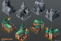 Game Art - 3D assets