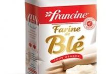 French Cooking & Baking Aids / Need we say that French baking aids are best to make French pastries? We recommend in particular Francine all-purpose wheat flour, Alsa baking powder and vanilla sugar, and Nestlé Dessert baking chocolate. These are staples you will find in nearly every French kitchen, for a very good reason. Shop simplygourmand.com! #french #frenchfood #France