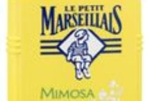 French Toiletries / Marseille and its region has a tradition of soap-making and the Le Petit Marseillais brand is an iconic French bathroom must-have. Let the scents of mimosa, lavender or basil transport you in Provence, even if for just a minute… Shop simplygourmand.com! #french #France #savondemarseille
