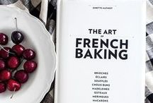 French Cookbook Collection / Because every cook needs some inspiration once in a while, here are a few French cook books that we particularly love… #french #recipe #frenchfood #France #cookbook