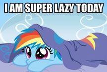 Lazy Pony