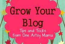 Blogging, Pinterest & Social Media