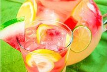 Cool Refreshing Drinks / There's no better way than to quench your thirst than with a cool, refreshing drink.  Throw away the sugary drinks and try these healthier versions