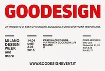 Goodesign 2015 - The natural circle / The event dedicated to eco-design and sustainable living returns from the 14th April to the 3rd May with its sixth edition in the spaces of the Cascina Cuccagna in Milan, during the Salone Internazionale del Mobile and up to the start of Expo 2015.
