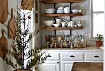 """Kitchen Oranization / """"Organization Isn't About Perfection, It's About Efficiency, Reducing Stress, And Clutter, Saving Time And Money, And Your Overall Quality Of Life"""" ~Christina Scallse"""