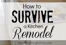"""Remodel Kitchen Ideas and Help / """"Formulate a specific game plan... the specific steps in making your intention come to life."""" ~ Robert G. Allen"""