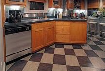 """Kitchen Floor / """"Aim For The Sky And Reach The Ceiling. Aim For The Ceiling And You Will Stay On The Floor"""" ~Bill Shankly ...You have to start somewhere..."""