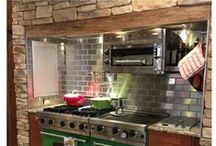 Metal Tile & Customer Photos / Shop Our Stainless Steel Tile Products | Create Contemporary Kitchen Designs for Your Home and Restaurant Kitchen |  Modern Metal Backsplash with No Grout Required